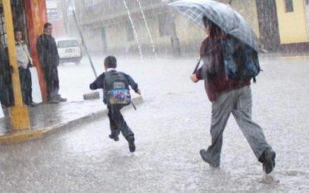 Se suspenden clases por lluvias pronosticadas en BC