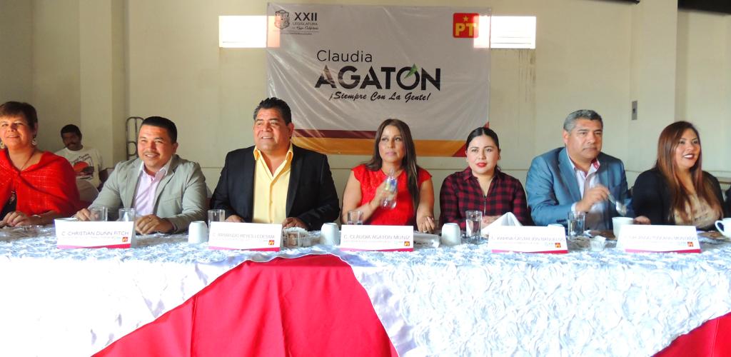 """""""Aumenta violencia contra mujeres en BC"""": Claudia Agatón"""