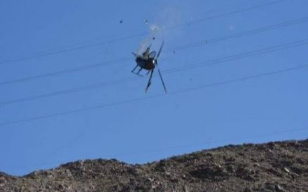 Se desploma helicóptero al extraer cuerpo sin vida de senderista en El Centinela
