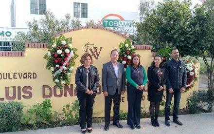 Conmemoran en Tecate 23 aniversario luctuoso de Colosio