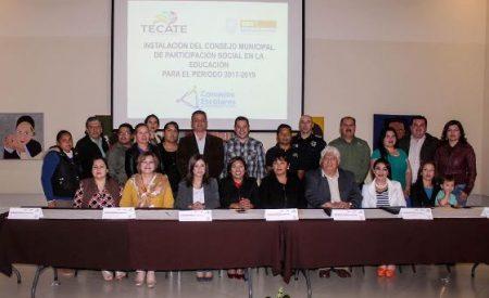 Quedó Instalado el Consejo Municipal de Participación Social en la Educación