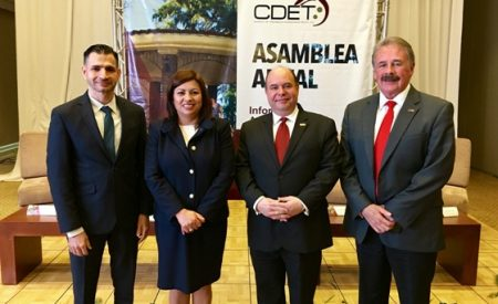 Asiste Alcaldesa a la asamblea anual del CDET