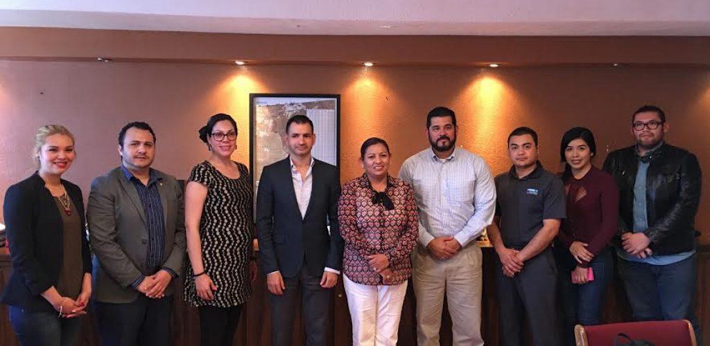 Se coordinan Gobierno de Tecate y SEDECO para impulsar negocios