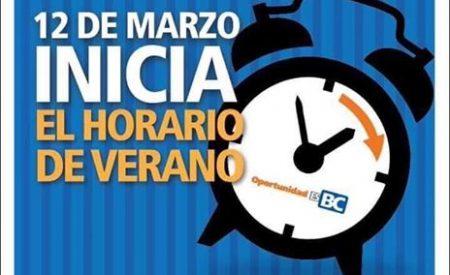 Domingo 12 de marzo inicia Horario de Verano en la franja fronteriza