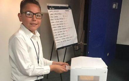 SEE realiza etapa municipal del concurso de la niña o niño Gobernador y Funcionario 2017
