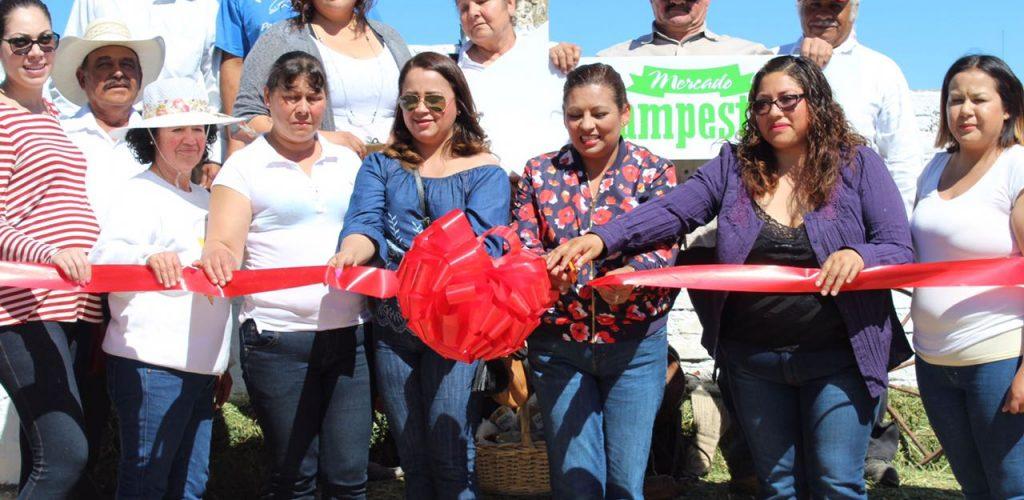 "Inicia ""Mercado Campestre"" para impulsar a productores de Tecate"
