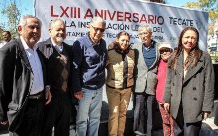 Conmemoran el 63 aniversario de la creación del Ayuntamiento de Tecate