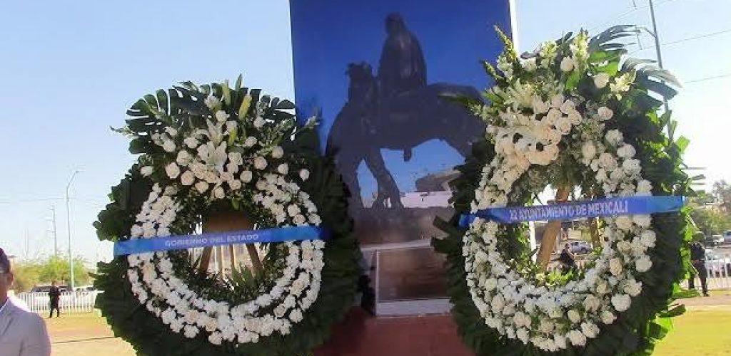 De luto, conmemoran 114 Aniversario de Mexicali