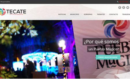 Estrena Portal de Internet Gobierno de Tecate