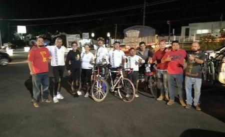 Travesía Nacional Ciclista en busca de la Casa de las Familias