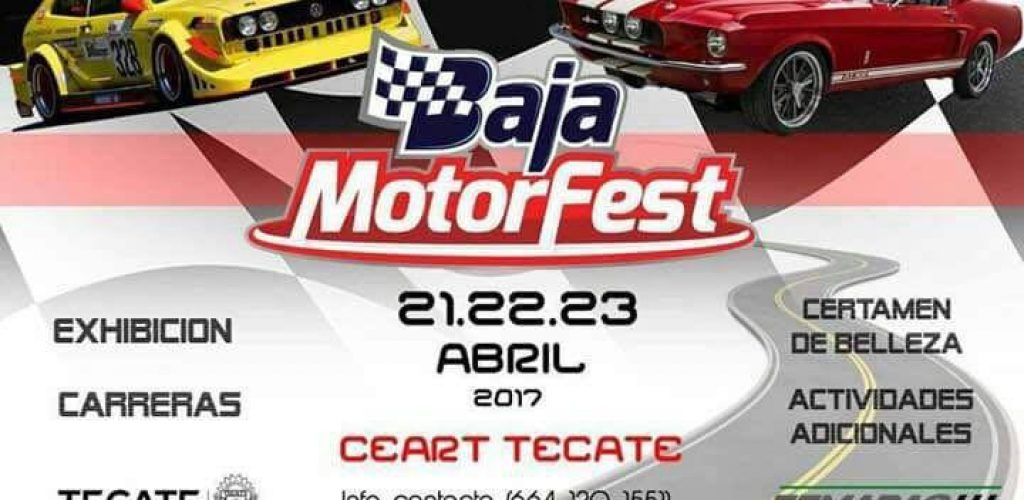 "Todo Listo para la ""Baja Motor Fest"" en Tecate"