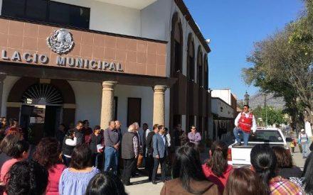 Protección Civil encabeza simulacro de sismo en Tecate