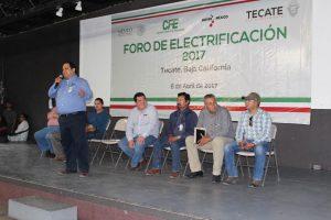 Gobierno Municipal y CFE realizan Foro de Electrificación 2017