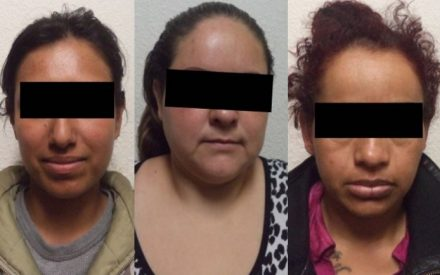 Detienen a tres mujeres por fraude, violencia familiar y omisión de cuidados