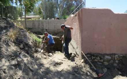 Realiza IMDETE mantenimiento de la Unidad Deportiva Eufrasio Santana