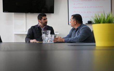 Se reúne Arregui con presidente del Comité Ciudadano de Seguridad Pública