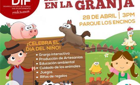 """Festejará DIF Tecate el Día del Niño """"Aprendiendo en la granja"""""""