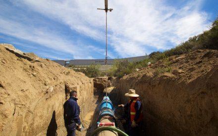 Amplían red servicio de agua potable en  Zona Sur de Tecate