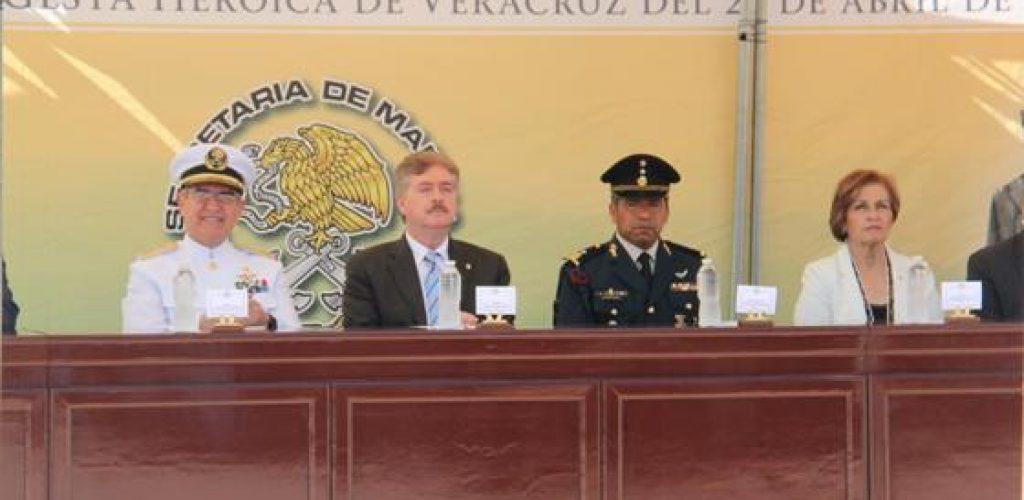 Encabeza Gobernador Francisco Vega ceremonia del Centésimo Tercer Aniversario de la Gesta Heroica del Puerto de Veracruz