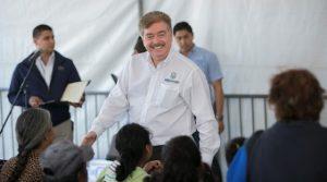 Reitera Gobernador Francisco Vega compromiso de apoyar el bienestar y desarrollo de Playas de Rosarito