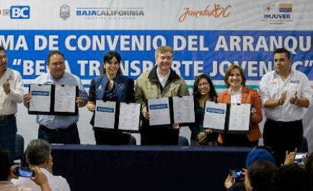 "Invita Gobierno del Estado a estudiantes rosaritenses a solicitar la beca ""Transporte Joven BC"""