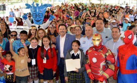 Celebra Gobierno del Estado a mas de 2 mil infantes de la Zona Este de Tijuana con evento del Día del Niño