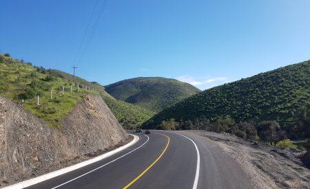 Concluye modernización de la carretera Tecate-El Sauzal