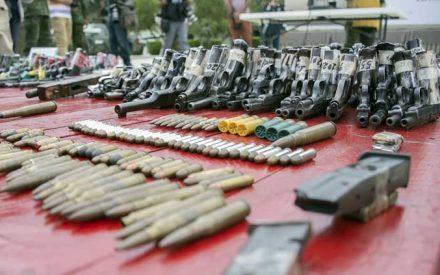 Aseguran más de 3 mil armas de fuego y cartuchos en BC