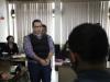 "Reos reciben con gritos de ""ladrón, ratero"" a Javier Duarte"