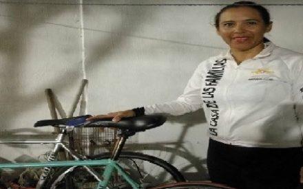 Mujer sinaloense, ejemplo de lucha en Travesía Nacional Ciclista