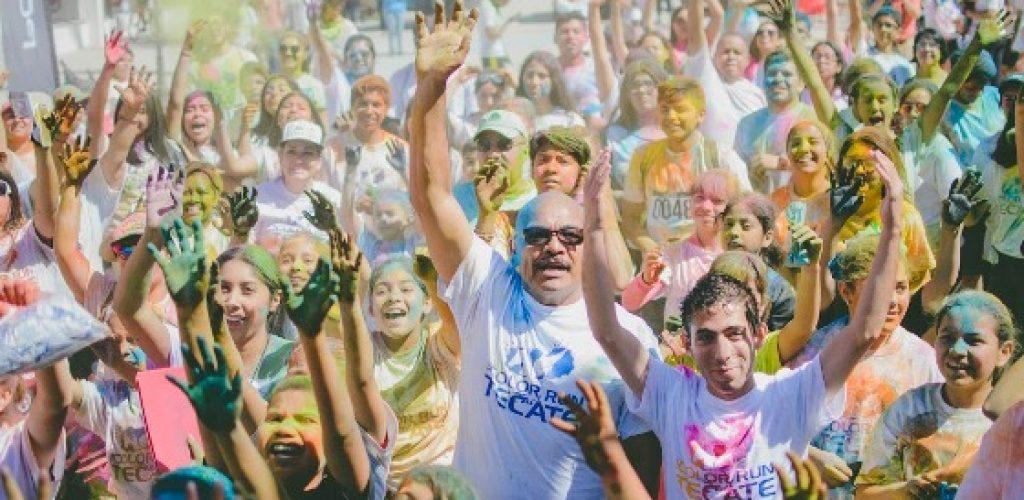 Con éxito se realizó la tercera edición The Color Run Tach Tecate 2017
