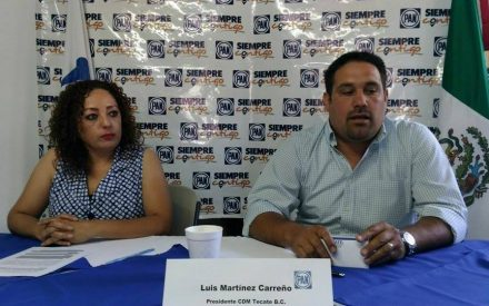 Favorece Seguridad Pública de Tecate a contratista de grúas: PAN