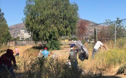 Ayuntamiento de suma a limpieza del Río Tecate