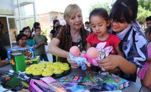 Festeja DIF Tecate a niñas y niños en El Recreo