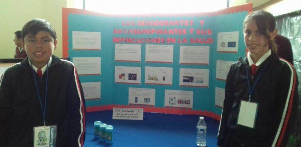 Obtienen tecatenses 1er.Lugar en concurso de Ciencia y Tecnología