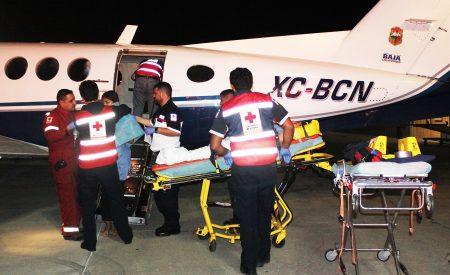 Trasladan a BC a estudiantes accidentados en BCS