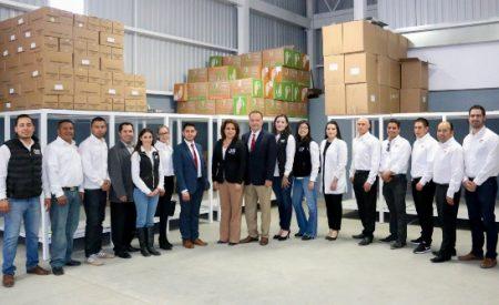Fideicomiso de Ensenada entrega almacén de alimentos a DIF Municipal