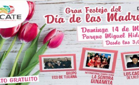 Gobierno de Tecate invita a festejar el Día de las Madres
