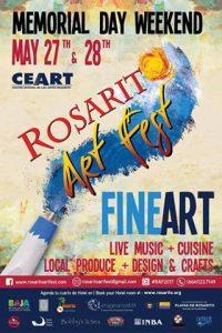 Arracan actividades previas a Rosarito Art Fest