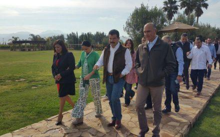 Prometen infraestructura hídrica para el ejido Carmen Serdán