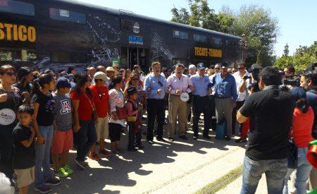 Promueven recorridos del Tren Turístico Tijuana-Tecate