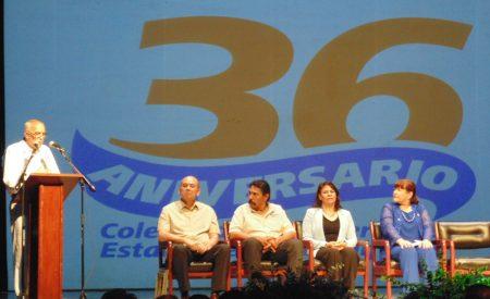 Celebran  36 aniversario de COBACH