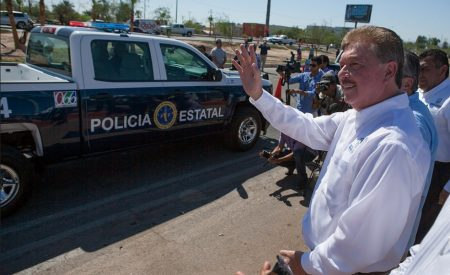 Llama gobernador Francisco Vega a no politizar el tema de la seguridad en BC