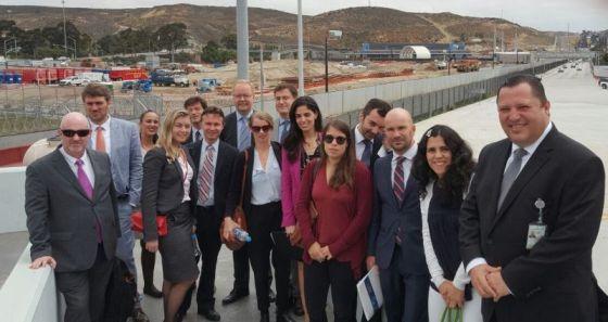 Diplomáticos europeos se reúnen con delegado del Inami