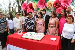 Realiza DIF Tecate Matrimonios y Registros Colectivos