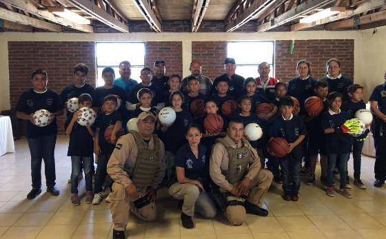 Arranca Programa de Policía Juvenil en La Rumorosa