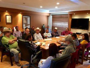 Coordinan esfuerzos Gobierno Municipal y Comisariados Ejidales
