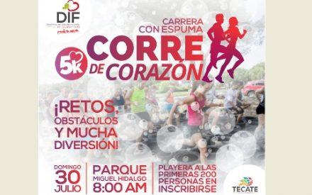 """Todo listo para la carrera """"Corre de Corazón"""""""