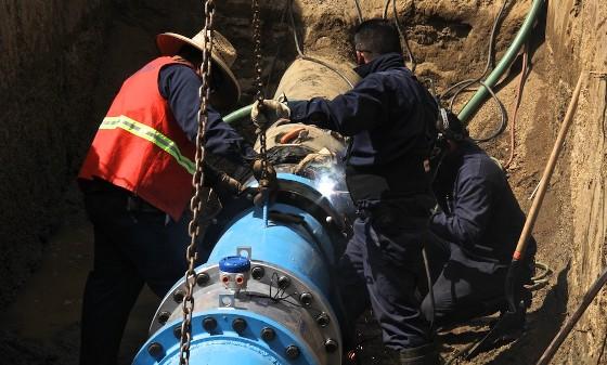 CESPTE establece servicio de agua potable en Valle de las Palmas
