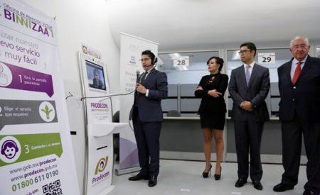 PRODECON y SAT firman convenio para instalar oficinas de atención virtual, proyecto BINNIZÁA